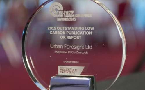 Urban Foresight Report Named Outstanding Low Carbon Publication of 2015