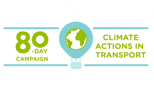 80 Days of Climate Actions in Transport