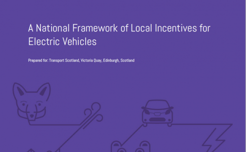 A National Framework of Local Incentives for Electric Vehicles
