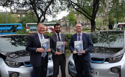 Minister Launches Scotland's Action Plan to Grow EV Markets
