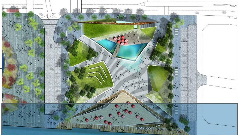 Waterfront Hub Plan